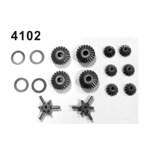 002-4102 Differentialgetriebe Set Kompl