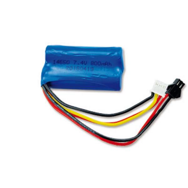LiIon Akku 2S 7,4V 800mAh HBX Stecker