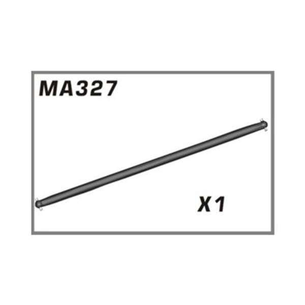 MA327 Mittlere Antriebswelle Aluminium AM10SC
