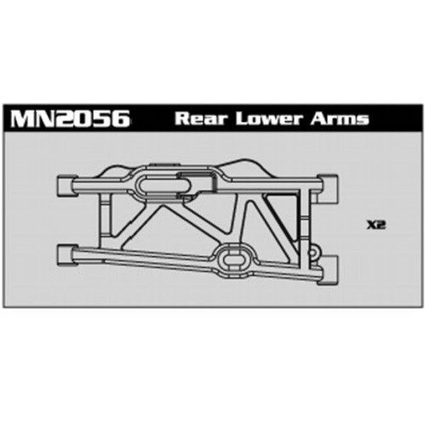 MN2056 Rear Lower Arms