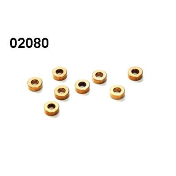 02080 Gleitlager 5x10mm 6 Stück
