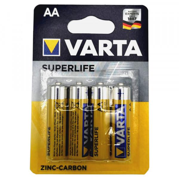 Varta AA Superlife LR06 1,5V 4er Blisterpack 4008496556267