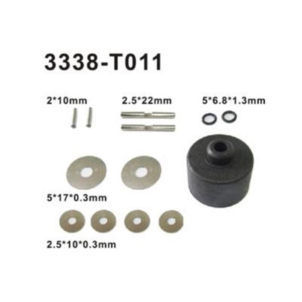002-3338-T011 Differential Bauteile Set