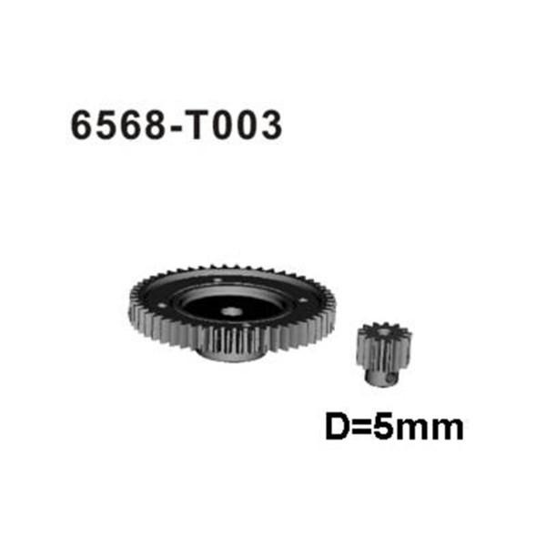 6568-T003 Hauptzahnrad+Ritzel u.a. für X-Missile