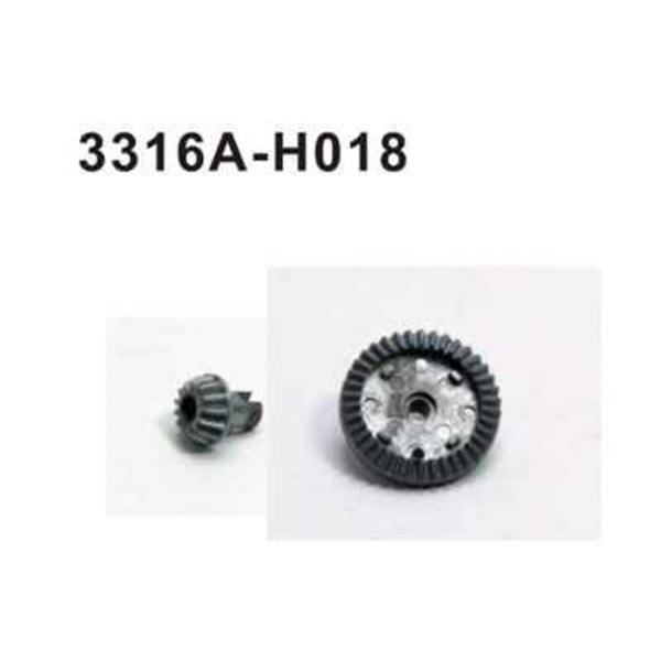 3316A-H018 Kegelrad Set