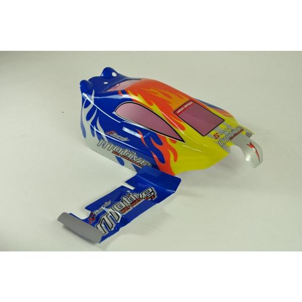 6528A-B002 Buggy Karosserie Rot