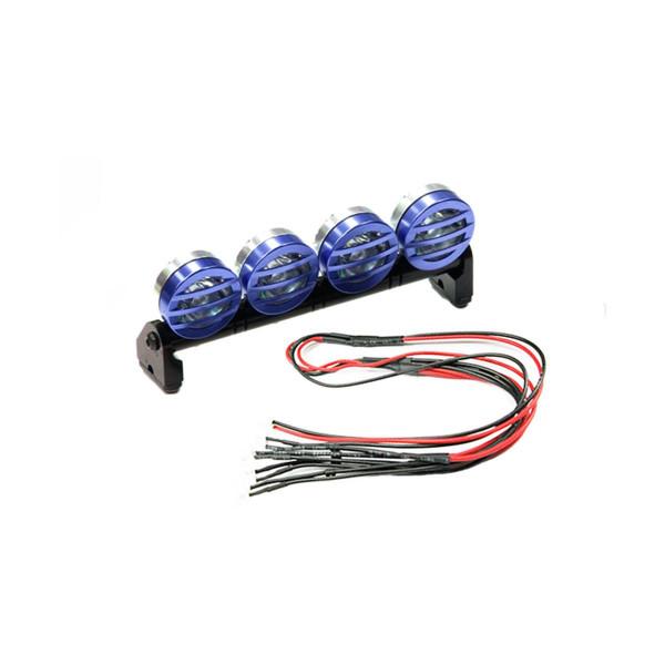 Dachscheinwerfer Set Metall 4 Scheinwerfer inkl. LEDs