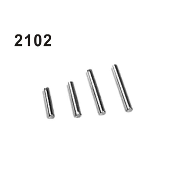 2102 Achsen Set D=5mm, L=20/25/30/40mm