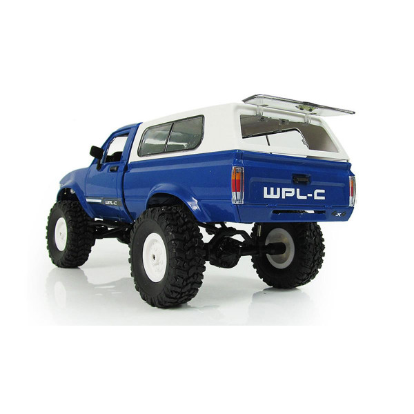 RC Offroad Truck 4WD 1:16 Bausatz blau