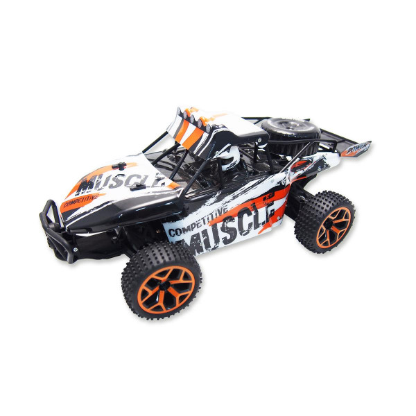 "Sand Buggy Extreme D5 ""white-orange"" 1:18 4WD RTR"