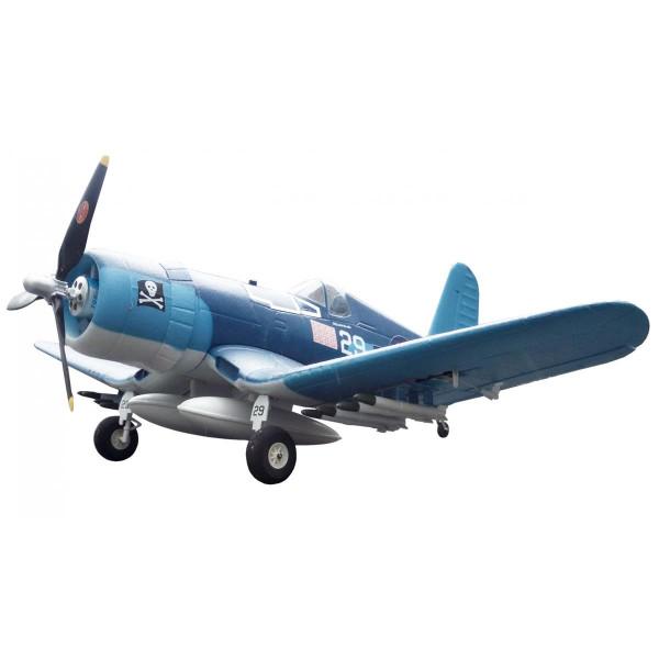 F4U Corsair blue PNP 4 Kanal SW 75 cm