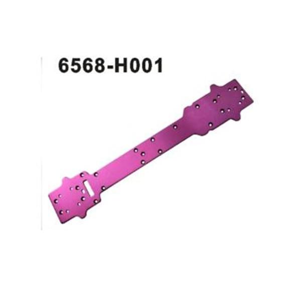 6568-H001 Alu Chassis Schutzplatte