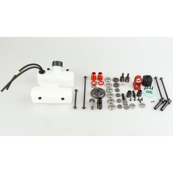 4WD Umbau Kit für 1:5 Buggy von 2WD auf 4WD