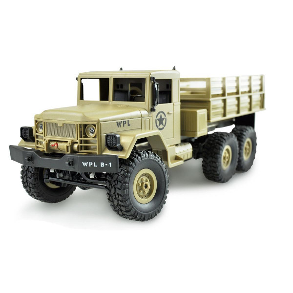 RC US Millitary Truck  6x6 Allradantrieb, M 1:16. Bausatz M35 Serie d er US-Army mit LED
