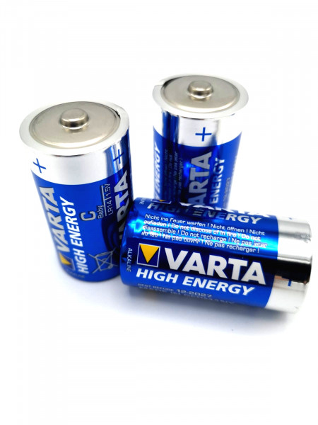 Varta C - Baby LR14 Longlife Power / High Energy lose 4008496573363