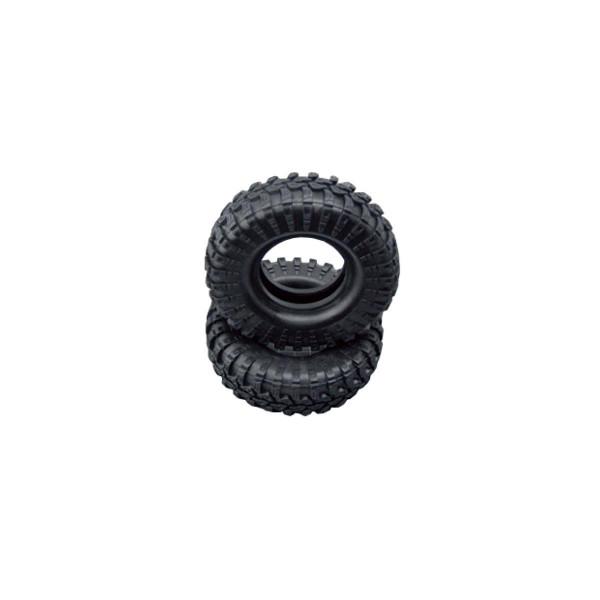 Reifen Set 108mm mit Einlage 2 Stück