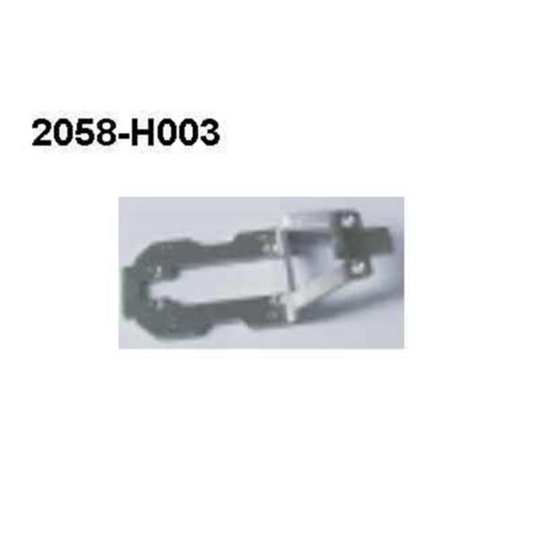 2058-H003 Alu Brutal Pro Versteifungsplatte hinten