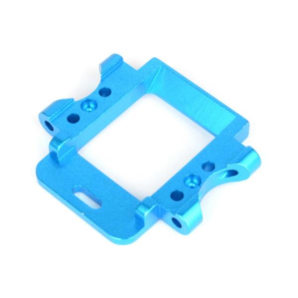 102261 Querlenkerhalter hinten Aluminium, blau
