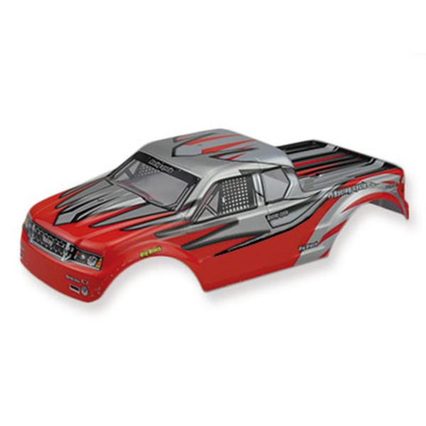 Monstertruck Body RED S-TRack V2
