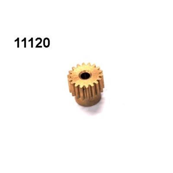 Motorritzel 18 Zähne Modul 0,6