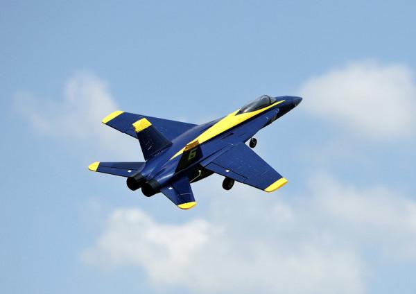 F18 Jet Blue Angel 656mm PNP 64mm EDF