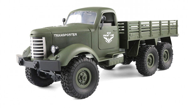 Ferngesteuerter U.S. Militär LKW 6WD Allrad 1:16 RTR, grün