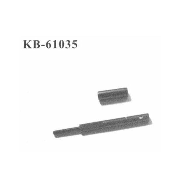 KB-61035 Welle für Rutschkupplung + Getriebe