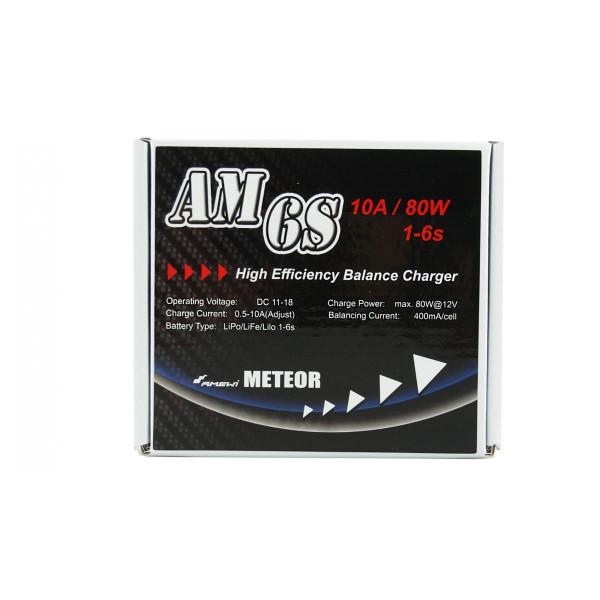 Meteor Ladegerät AM6S LiPo, LiFe, LiIon