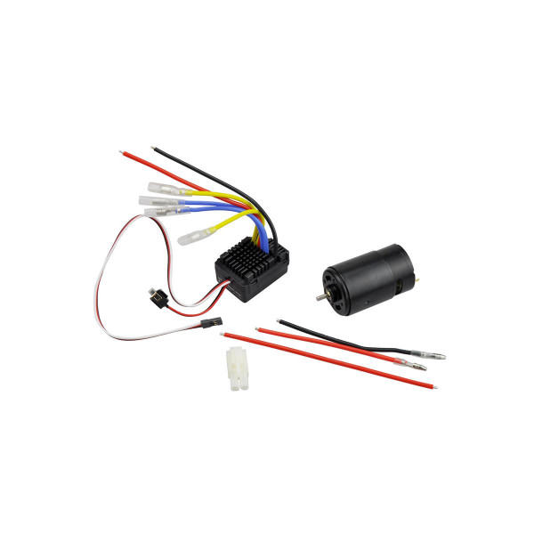 Brushed Motor+ Regler Combo 1:10 Crawler
