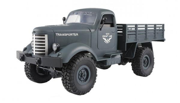 U.S. Militär Truck Dodge Lieferwagen 4WD 1:16 RTR, blaugrau