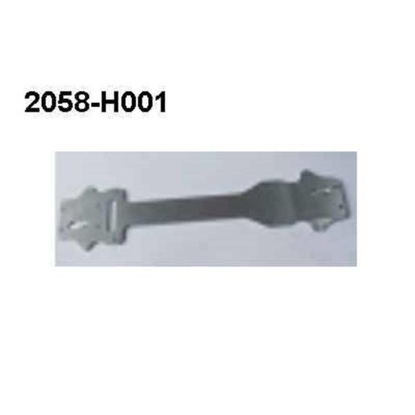 2058-H001 Alu Brutal Pro Chassis Schutzplatte