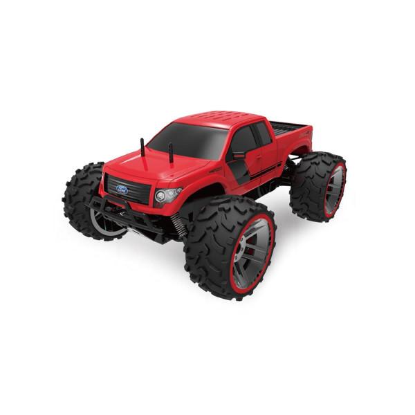 Ferngesteuerter Lizenz Monstertruck Ford F150 1:8 rot 22286