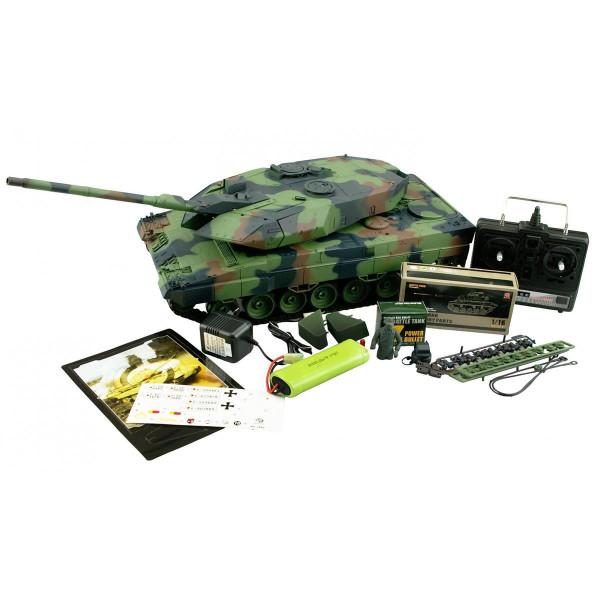 "Panzer ""Leopard 2 A6"" 2.4GHz M 1:16 / R&S / Metallgetriebe"