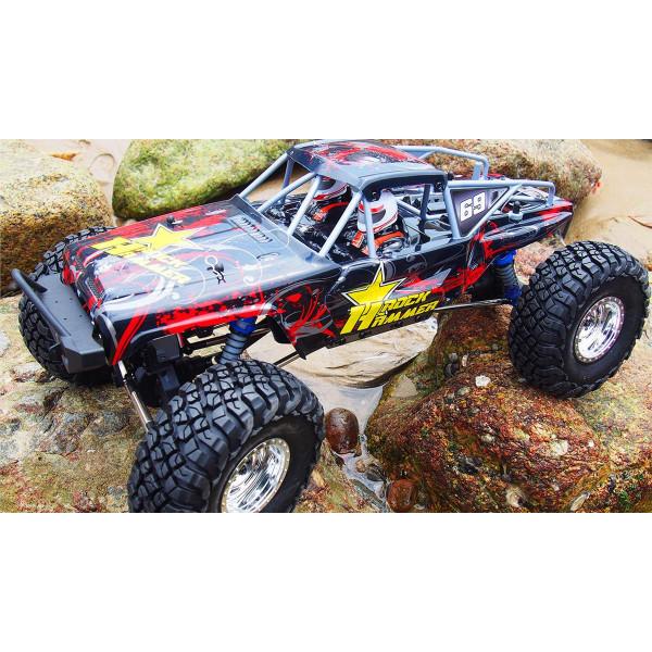 AMXRock RockHammer Crawler 1:10, RTR, rot