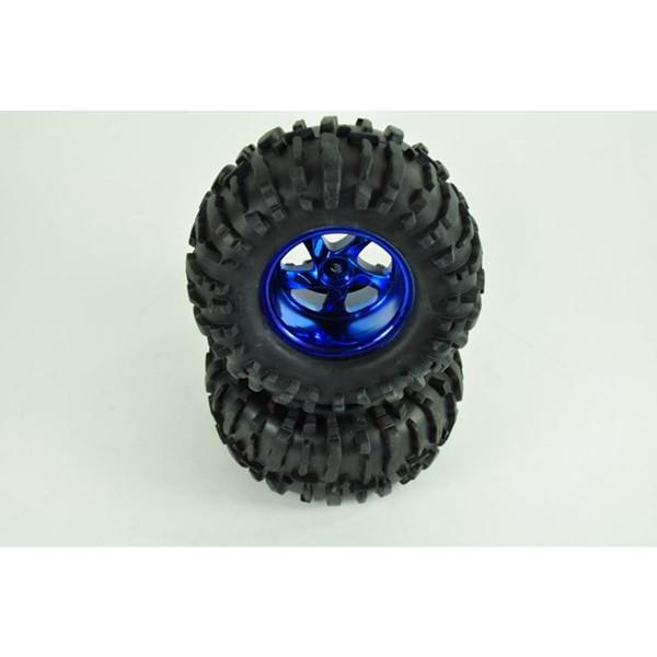 01 Reifen kpl. mit Mantel auf Felge (Paar)