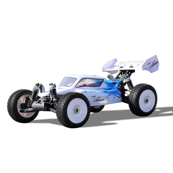 Planet Pro 4WD Buggy RTR 1:8, 2,4GHZ, weiß-blau